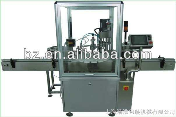 Newest Automatic electronic cigarette filling and capping machine for little bottles