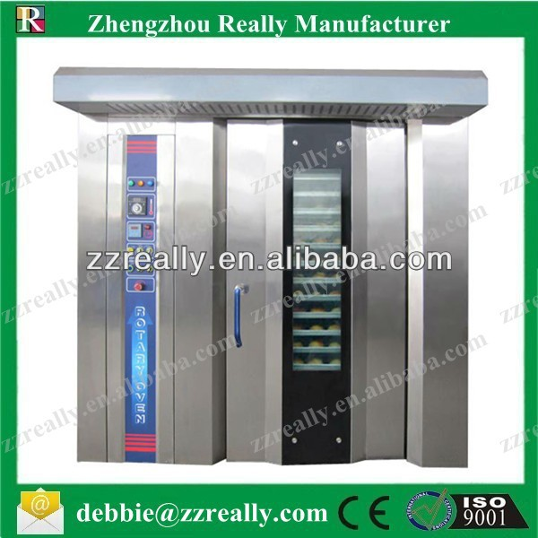 Digital automatic CE approval baking oven RL-G100 rotary oven for bakery