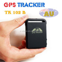 Small GPS Tracking Device tk102 GPS/GSM/GPRS Bike Car Vehicle GPS Traker For Personal Kids Elderly