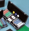 Travel Casino Poker Case Family Game Set