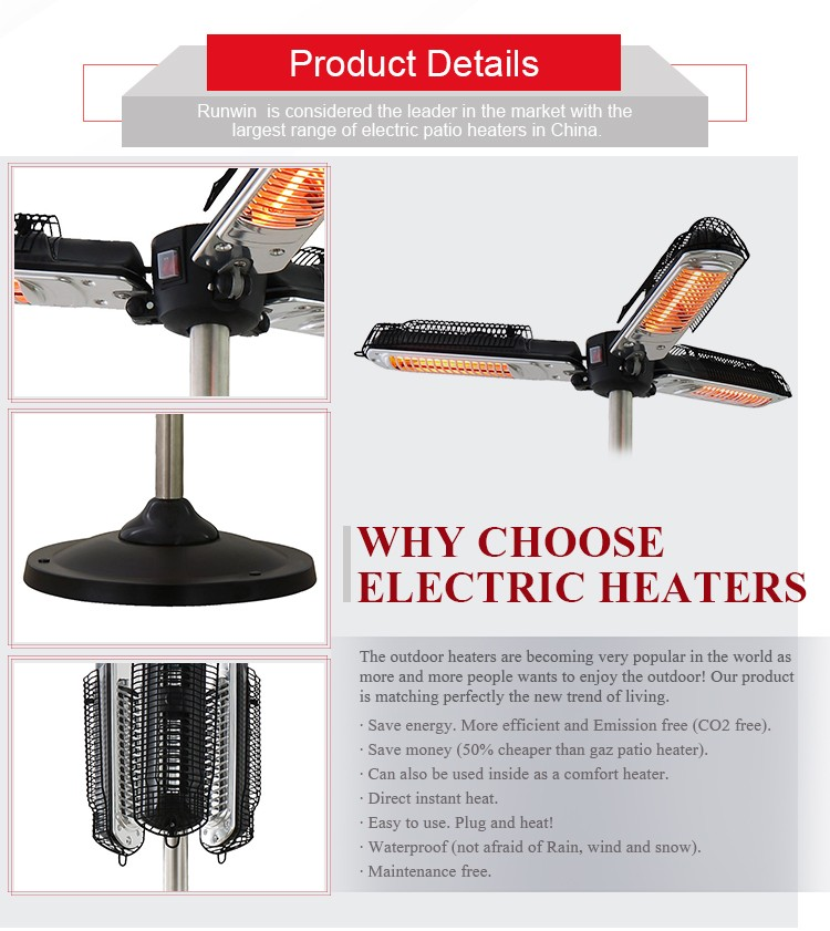 outdoor gas patio heater ZHQ2028-S