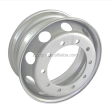 Heavy truck 22.5 tubeless steel alloy wheels