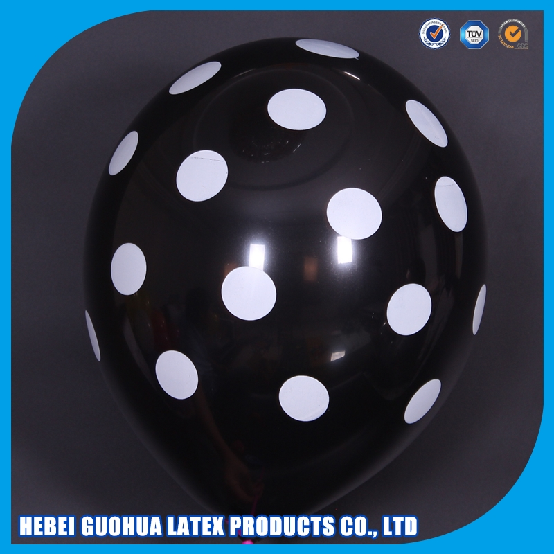 customized logo printing decoration discount balloons