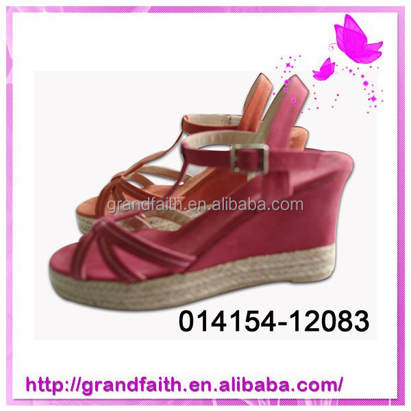 2014 Hot sale low price Nice Design Ladies Sandals