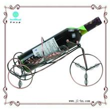 Eco-friendly home storage rack wine display stand floor wine display with antique colour