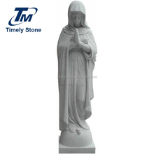 stone mother virgin mary statue