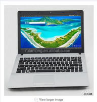 Wholesale cheapest 14 inch i3 2.4GHz dual core 4G Ram 500G HDD with DVD RW laptop computers