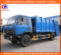 Brand new Dongfeng Rear Loader Compactor Garbage Truck Waste Collector truck 6 wheeler garbage compactor trucks for Sale