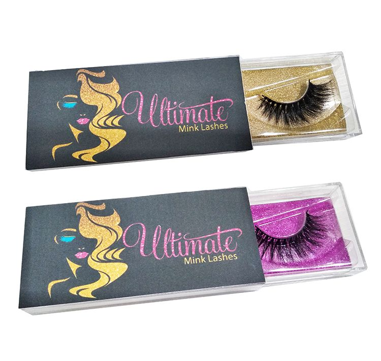 Factory sale 3d mink eyelashes 25mm lash custom private label mink lahes