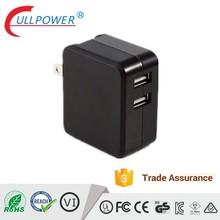 multi port USB charger with US plug