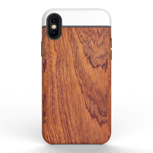 2017 NEW Product Gift item OEM Hybrid Armor 2 in 1 with Wooden Pattern Back Case Shockproof Case cover for Apple iPhone 8
