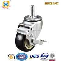 Strong 3 inch Industrial Caster wheel with stem