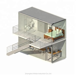 Cozy Container House On Sale , Cheap Prefab Homes, Prefabricated Portable Houses