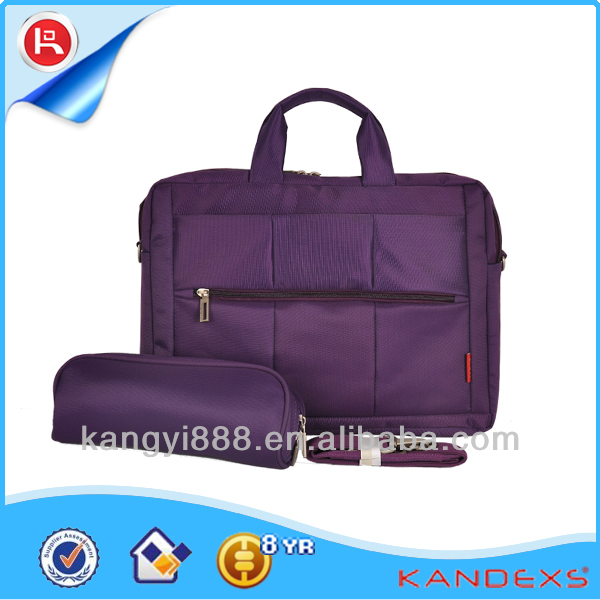 fancy backpack bag leather case cover for asus tablet pc with laptop compartment