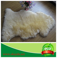 Australian sheepskin rug carpet wool