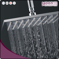 Led shower set with massage function top spray 20 inch shower head set