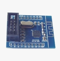 NRF24LE1 testing board with 10p download interface