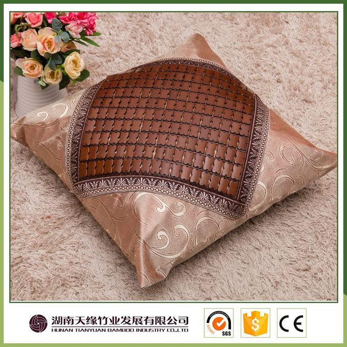 Supplier wholesale decorative bamboo pillow case family
