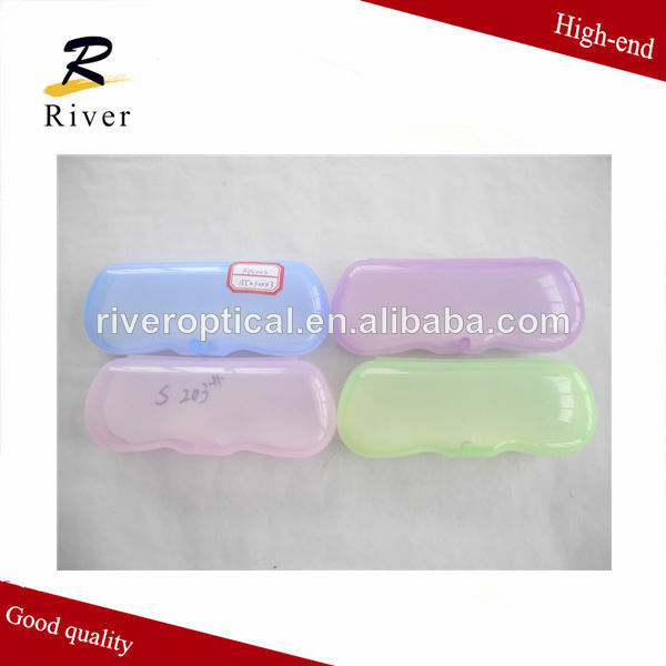 Hot sell clear plastic glasses cases