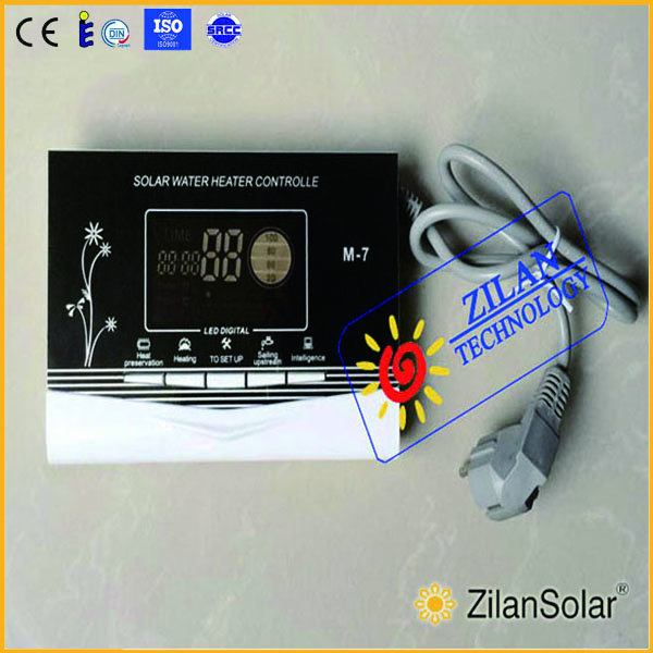 Solar water heater controller M-7 for non-pressurized solar heater