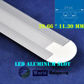 New 29.66*11.30mm Waterproof LED Aluminum Slot for LED Strip Light LED Profile