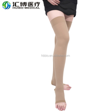 Thigh High 23-32MMHG Medical Gradient Compression Stockings Open Toe