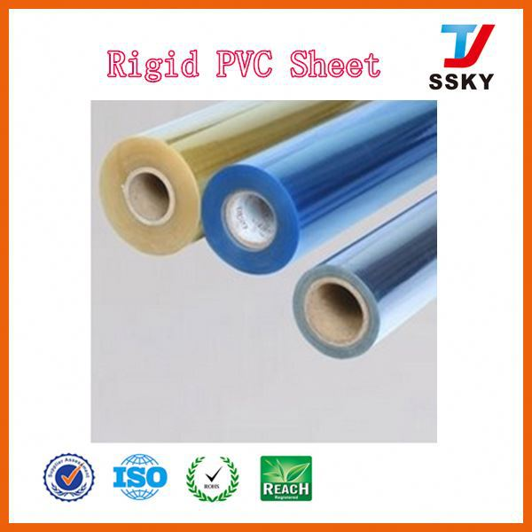 Private label OEM rigid pvc christmas film