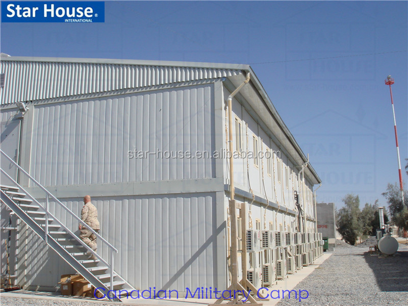 light steel sandwich panel flat packed prefab modular prefabricated container house