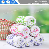 heart pattern yarn dyed jacquard kids towels cotton fabric wholesale manufacturer