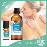 Relaxing body blended massage oil need essential oils distributor