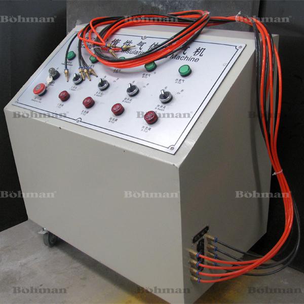Argon machine de remplissage de gaz verre machines de for Soufflage de fenetre