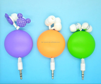 Original Hot Sale Retractable Earphones With