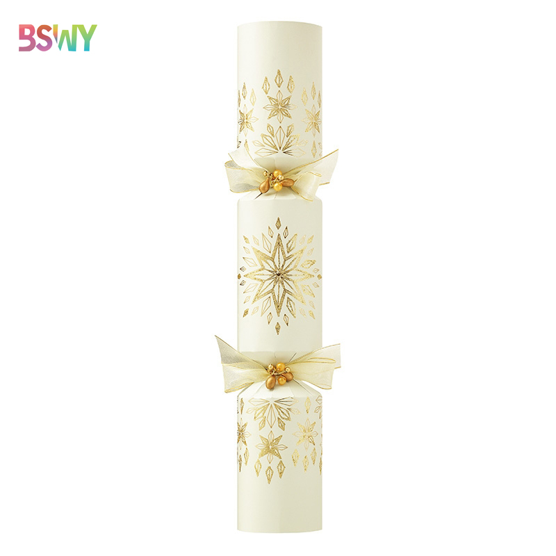 Factory price custom crackers for christmas party empty christmas crackers wedding party snaps
