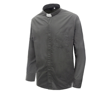 Hot Sale Good Quality Men long Sleeves Clergy Shirt for Church