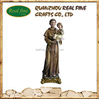 2014 Hotsale Resin Saint Statue, Saint Anthony for Christmas Decoration