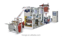 PE plastic Film Blowing and 2 color roto gravure Printing Machine Line