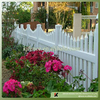 Recycle Vinyl garden fencing