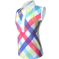 Wholesale Women Golf Apparel Sleeveless