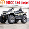 New V-Twin Cylinder diesel 4x4 atv quad