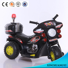 Battery Powered Electric Motorcycles for Kids with with Alarm Lamp and Police Whistle