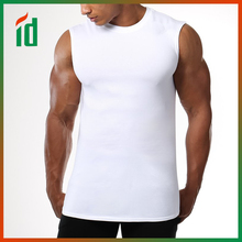Fitted workout no nonsense design slightly tapered fit sleeveless t-shirts high performance tank tops
