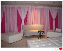 portable pipe and drapes decoration backdrop stage drapery