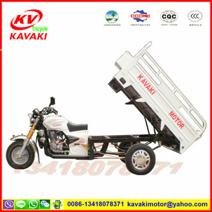 Guangzhou manufacturer 4 stroke white cargo tricycle used motorcycles for sale in japan with good quality