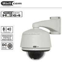 H.264 1.3 Megapixel CCD PTZ IP Dome Camera