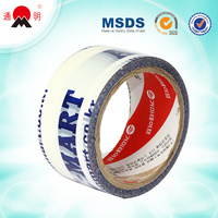 cheap colorful bopp printed logo tape manufacturer china oem