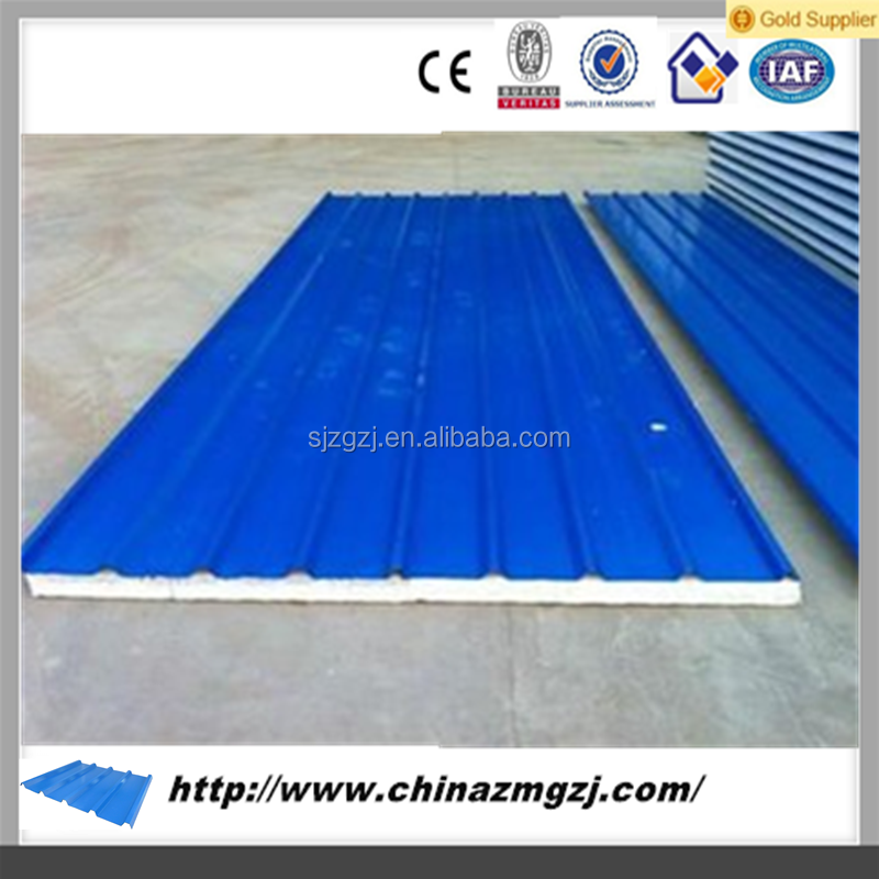 Polyurethane Sandwich Panel Roof : Pu polyurethane sandwich panel ppgi roofing sheets coils