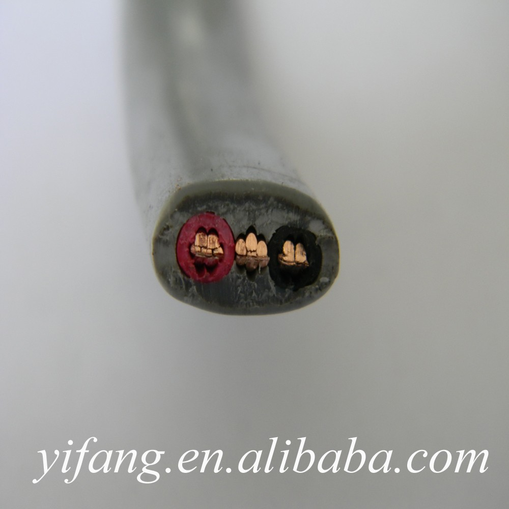 10mm2 pvc insulated flat electrical wire cable