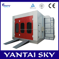 SB-100 china supplier spray booth heating system/inflatable spray booth