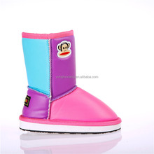 2017 exquisite block winter warm boots for kids snow boots baby