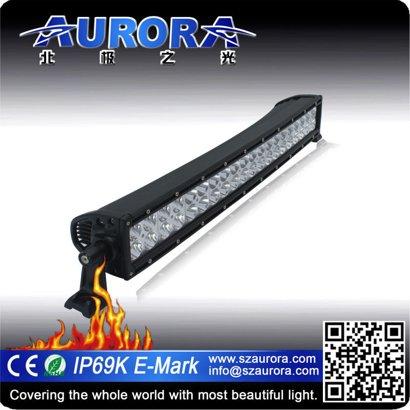 curved led light bars for off road electric vehicle
